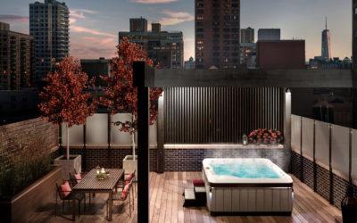 3 idées d'emplacement de votre spa